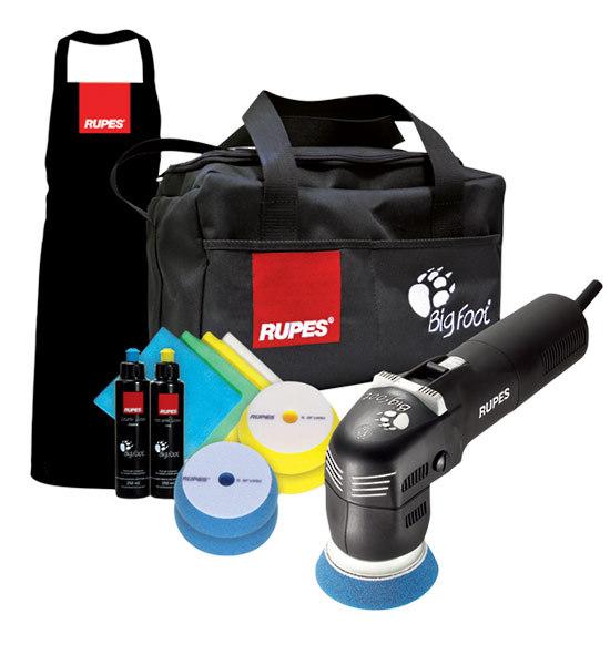 Rupes 75mm Deluxe Big Foot Mini Polisher Kit Hardware Depot