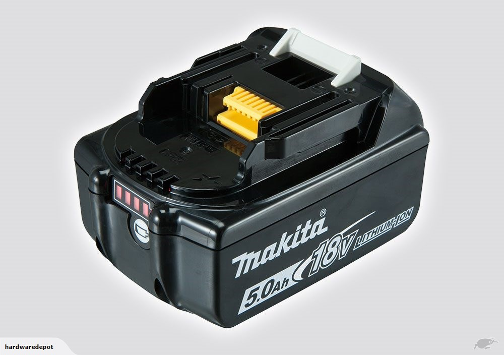 makita bl1850 18v li ion 5ah battery hardware depot. Black Bedroom Furniture Sets. Home Design Ideas