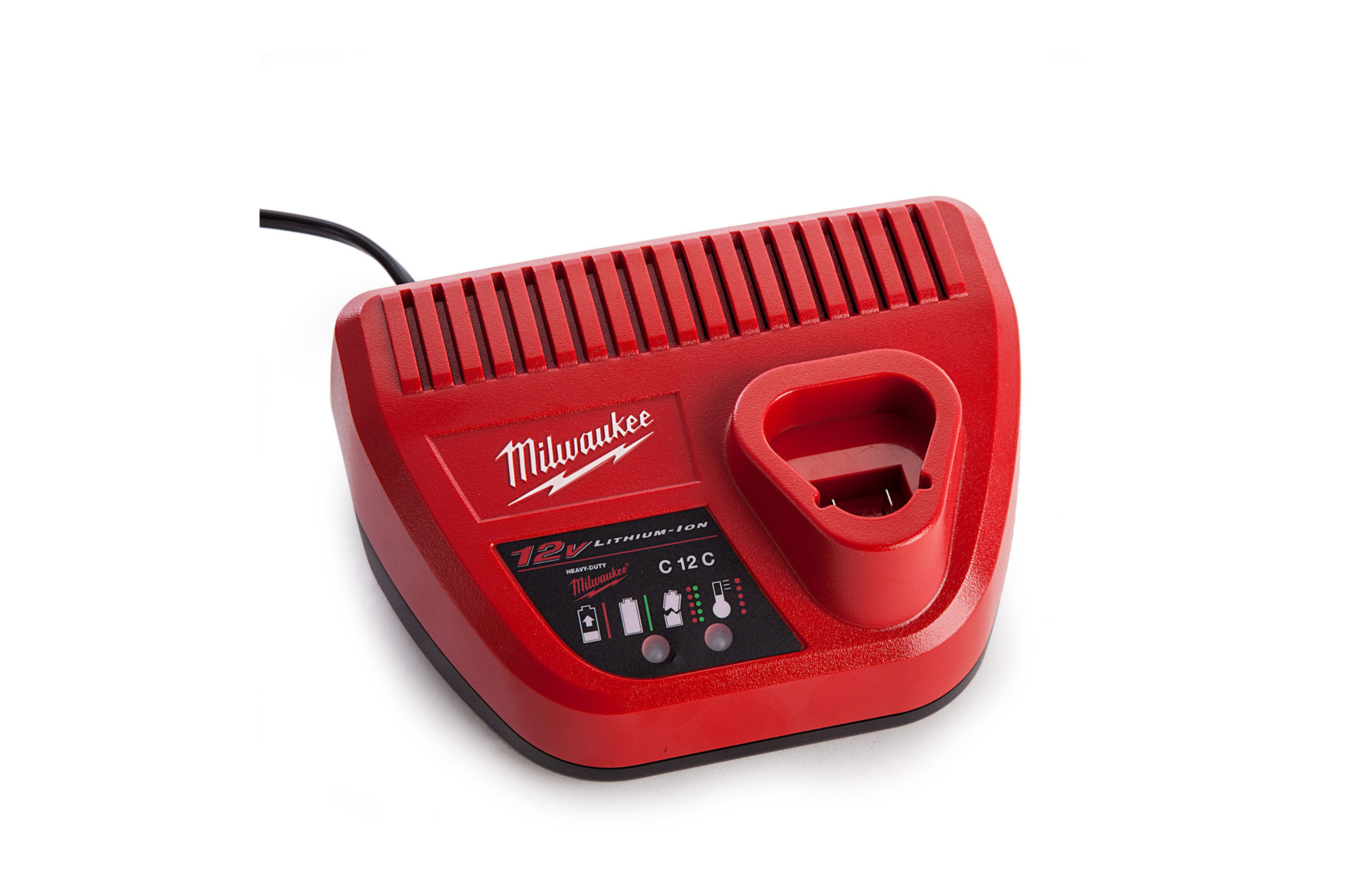 Milwaukee M12 Lithium Ion Battery Charger C12c Hardware Depot